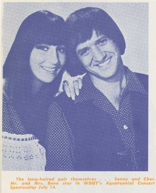 cc39663419c Sonny And Cher concert advertisement, 1967 | MNopedia
