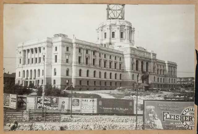 Southwest corner of the Capitol construction site