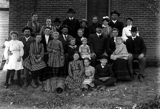 Family of Frederick Spangenberg Sr.