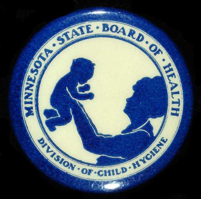 Minnesota State Board of Health button