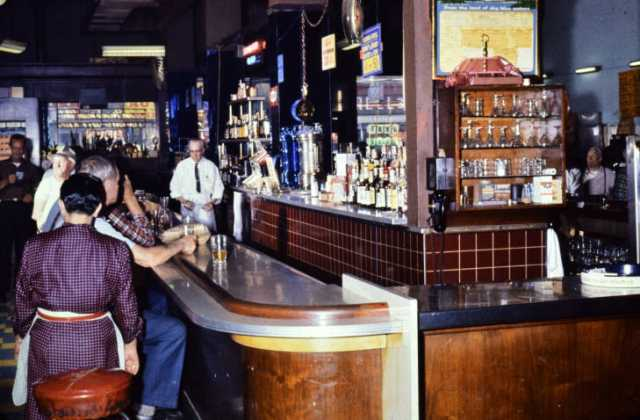 Interior of the Stockholm Bar