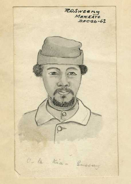 Drawing of Joseph Godfrey