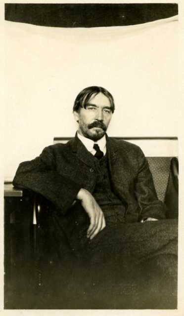 Thorstein Veblen, 1901.