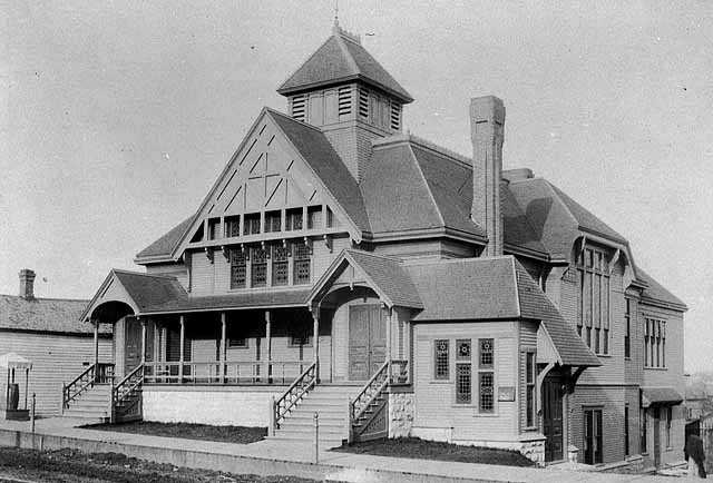 Unity Church, Wabasha and Summit, St. Paul, ca. 1890.