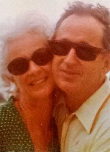 Color image of Virginia and Bobby Piper, c.1980.
