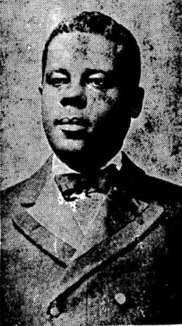 Black and white photograph of J. Frank Wheaton, c.1913.