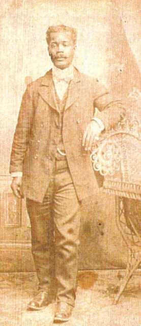 Black and white photograph of John Frank Wheaton, c.1900.