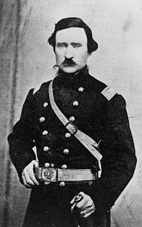 Photograph of Alexander Wilkin in his military uniform, c. 1863.