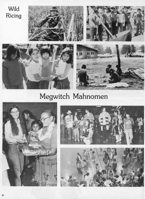Heart of the Earth Survival School yearbook, 1983. The school was located at 1209 Fourth Street in southeast Minneapolis.