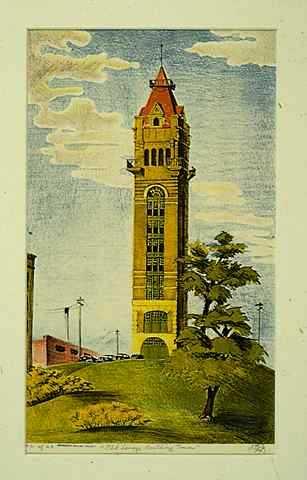 Old Savage Building Tower