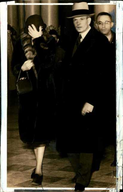 Photograph of Genevieve Clark and her attorney, Sigurd Ueland, ca. 1931.