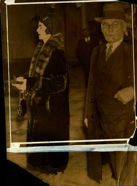Photograph of Genevieve and Daniel Clark