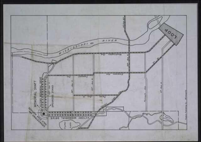 Map of Victory Memorial Parkway