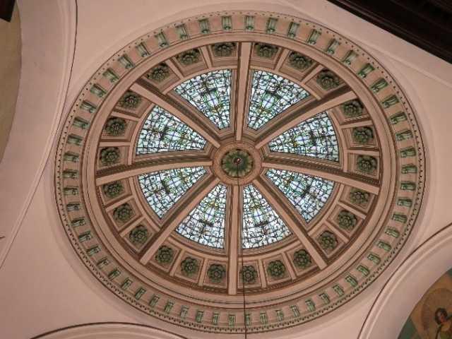 Dome of the Winona Public Library