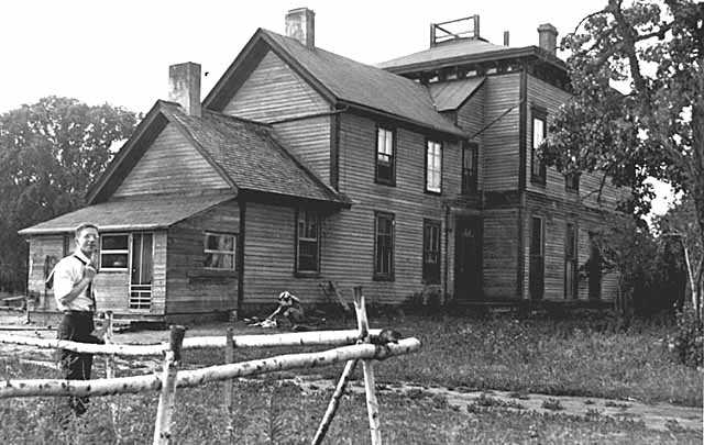 Ignatius Donnelly house in Nininger c. 1937