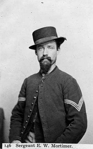 Photograph of Elias W. Mortimer