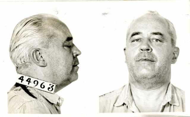Mug Shot of Wilbur Foshay