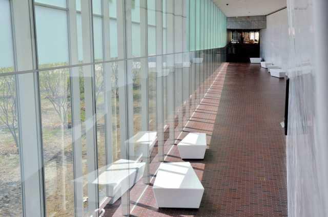 Walker Art Center interior hallway