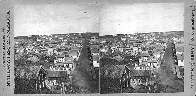 Photograph of Stillwater, circa 1885