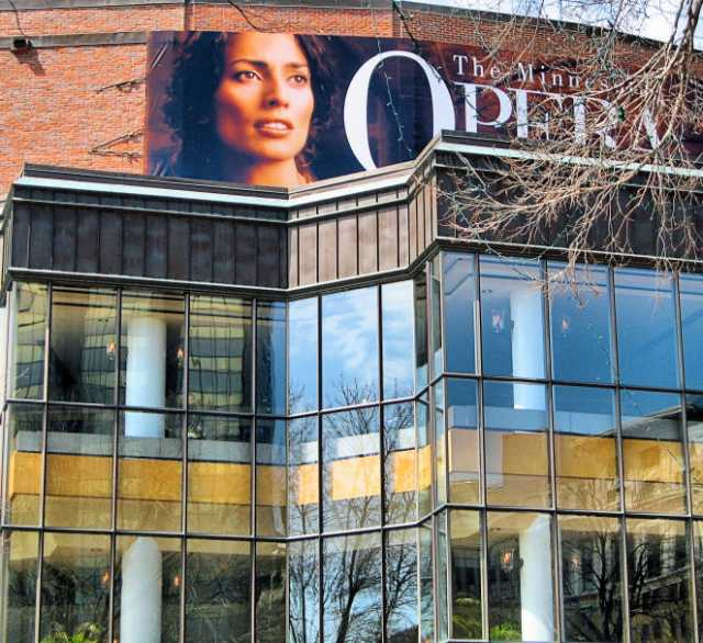 The Ordway Center for the Performing Arts, the primary performance venue of the Minnesota Opera