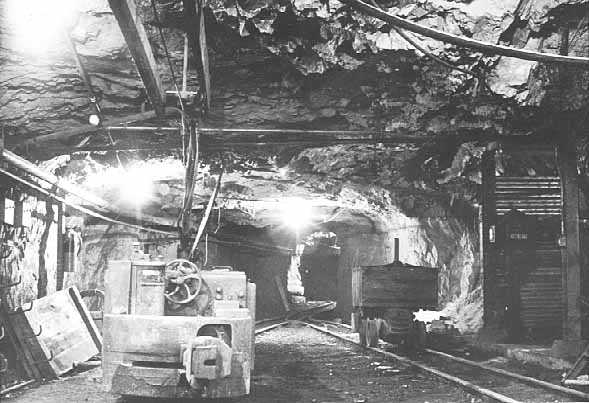 Tower-Soudan Mine, lower level