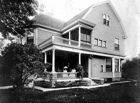 Frederick McGhee house, 665 University Avenue, St. Paul