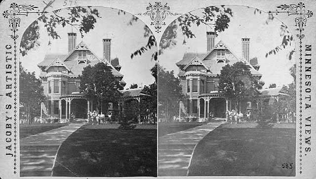 John S. Pillsbury home