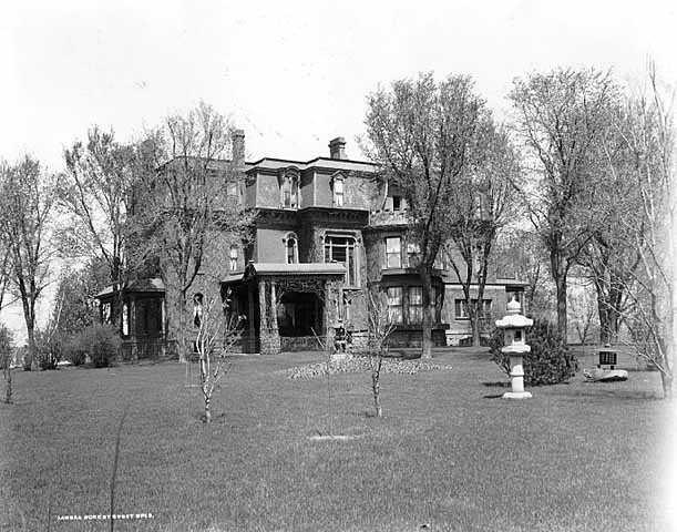 Thomas Lowry home, Hennepin and Groveland, Minneapolis
