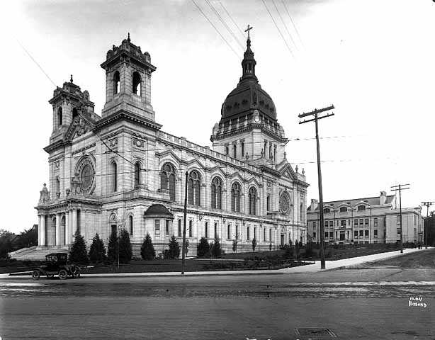 Cathedral of St. Mary and school, Minneapolis