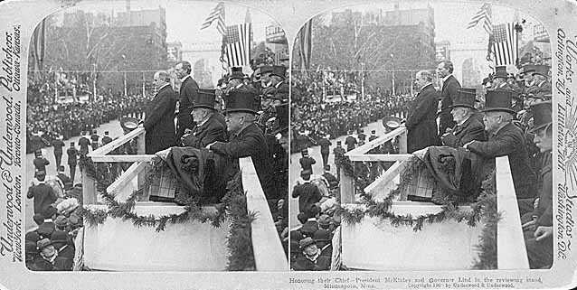 President William McKinley and Governor John Lind