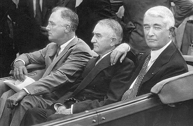 Dr. William J. Mayo and Dr. Charles H. Mayo with President Franklin Roosevelt