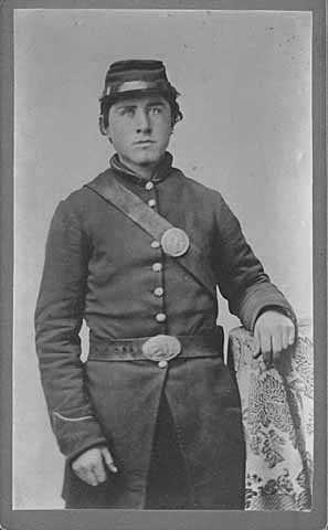Knute Nelson in Civil War uniform