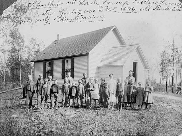 Schoolhouse near Fosston