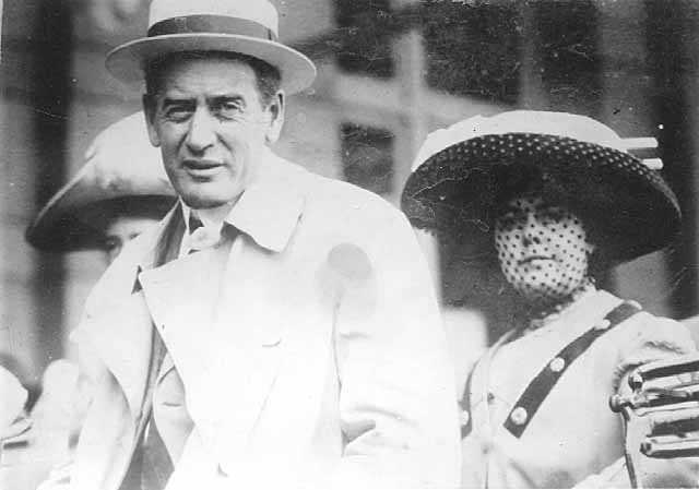 Governor John A. Johnson with his wife Elinore