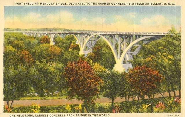 Fort Snelling-Mendota Bridge