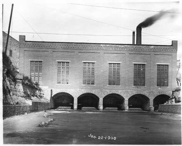 Hydro Plant near Hennepin Island, Minneapolis