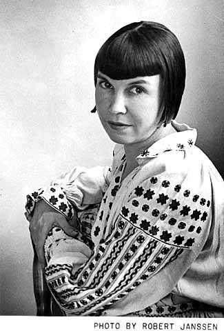 Photograph of Wanda Gág in 1928.