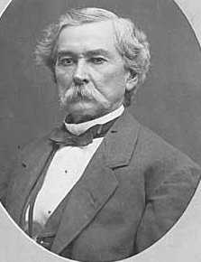 Black and white photograph of former Territorial Governor Willis Gorman, c.1872.