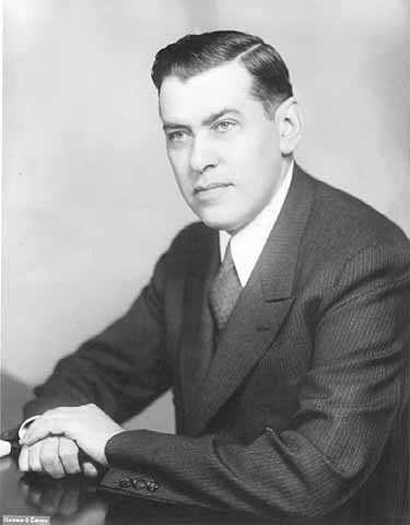 Black and white portrait of Republican Congressman August H. Andresen, c.1936.