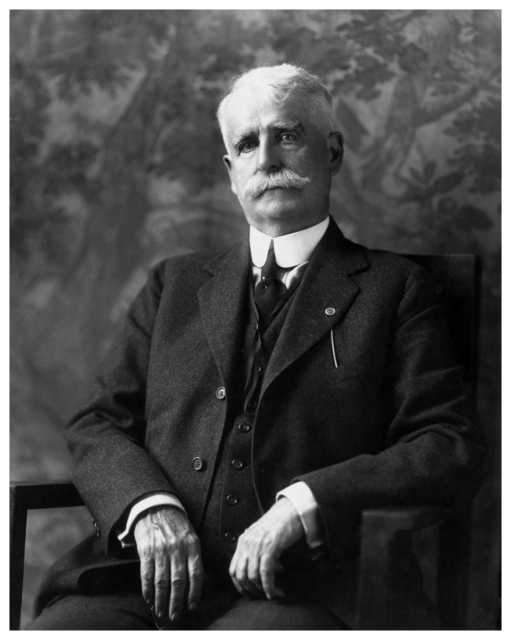 Black and white photograph of Cuyler Adams, c.1915. Photographed by Lee Brothers.