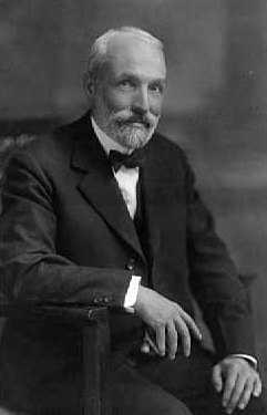 Black and white photograph of George Draper Dayton, 1934.