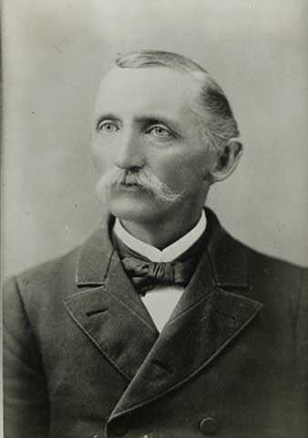 Black and white photograph of Orville Paterson Chubb, c.1885.