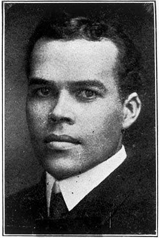Black and white photograph Jose Sherwood, ca. 1918.