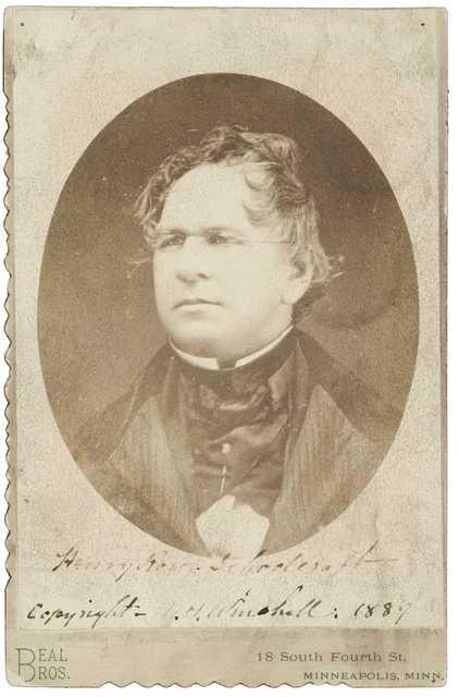 Daguerreotype of Henry Rowe Schoolcraft