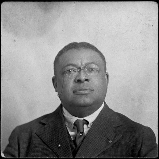 Orrington C. Hall, brother of S. Edward Hall, ca. 1920.