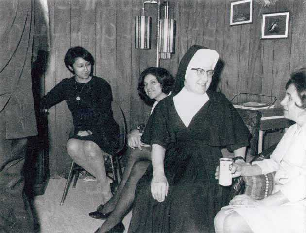 Sister Mary Giovanni Gourhan, 1972. Gourhan founded the Guadalupetrea Project Alternative School in 1962.