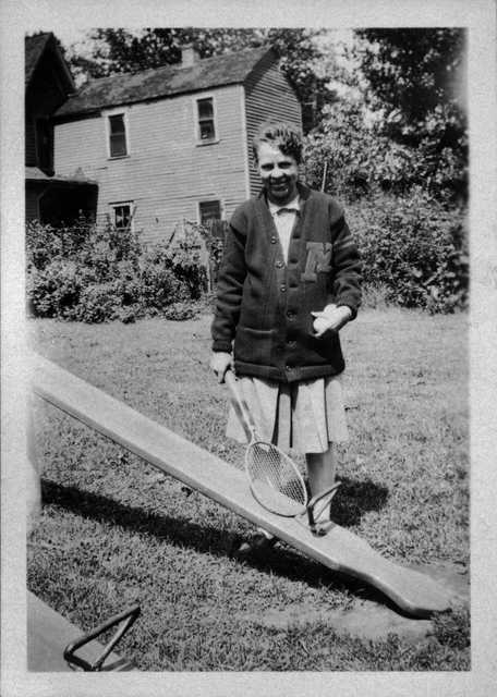 Black and white photograph of Ethel Ray Nance, ca. 1945.
