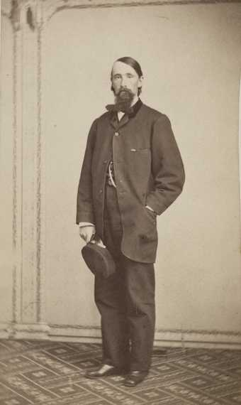 Carte-de-visite photograph of Charles E. Flandrau taken by Whitney's Gallery in December of 1862. Flandrau served on the Minnesota State Supreme Court from 1858 to 1864.