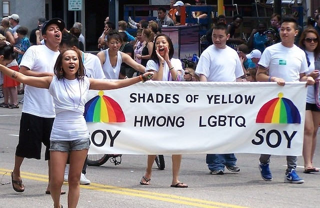 Shades of Yellow at Twin Cities Pride
