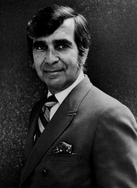 Max Shulman in the 1970s, courtesy of Martha Rose Shulman.